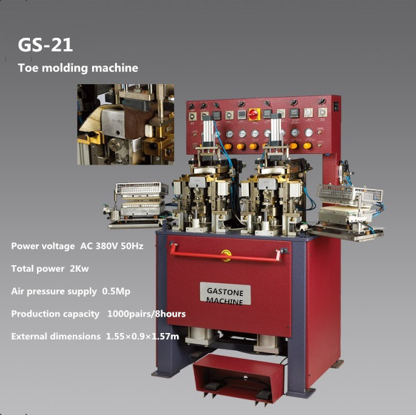toe molding machine
