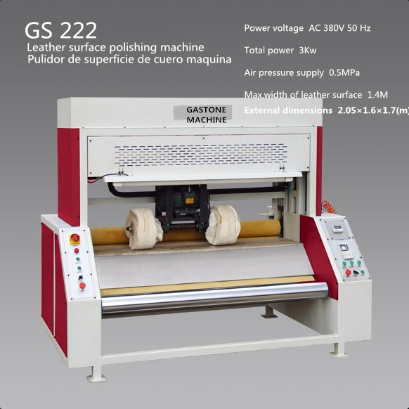 leather surface polishing machine, pulidor de superficie de cuero maquina